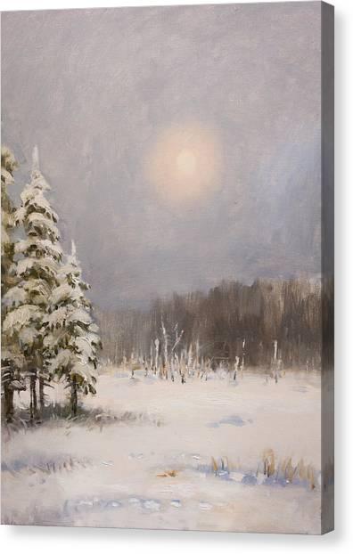 Winter Stillness Canvas Print