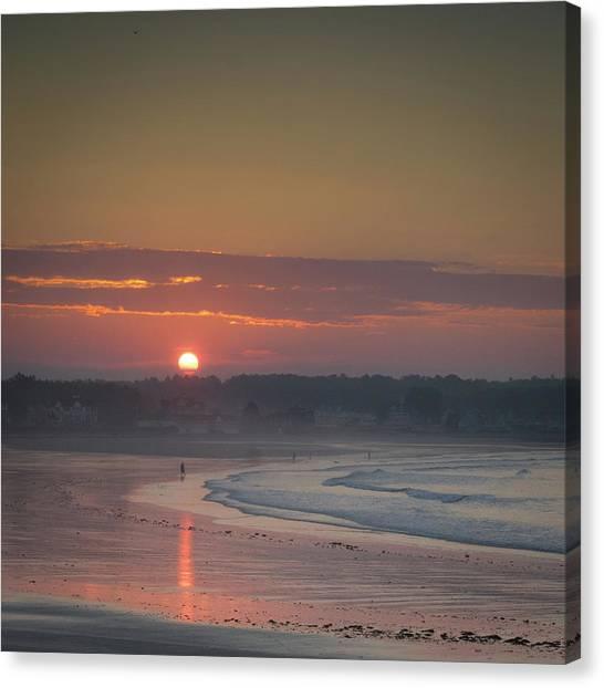 Winter Sunrise - Kennebunk Canvas Print