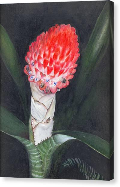 Winter Torch Canvas Print