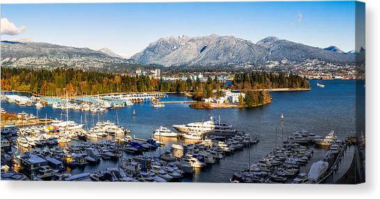 Seaplanes Canvas Print - Winter Vancouver by Alexis Birkill