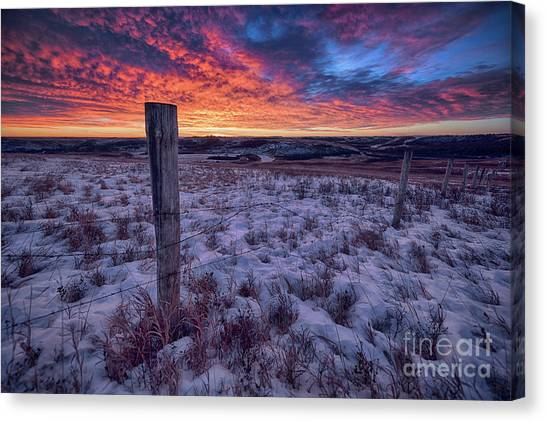 Saskatchewan Canvas Print - Winter Views by Ian McGregor