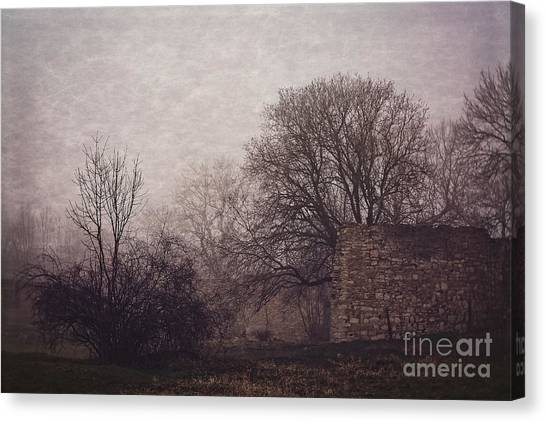 Winter Without Snow Canvas Print