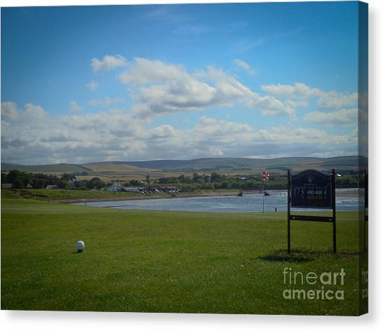 Winterfield Golf Club Canvas Print