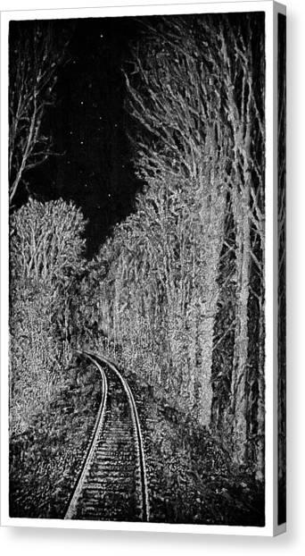 Winterreise Canvas Print