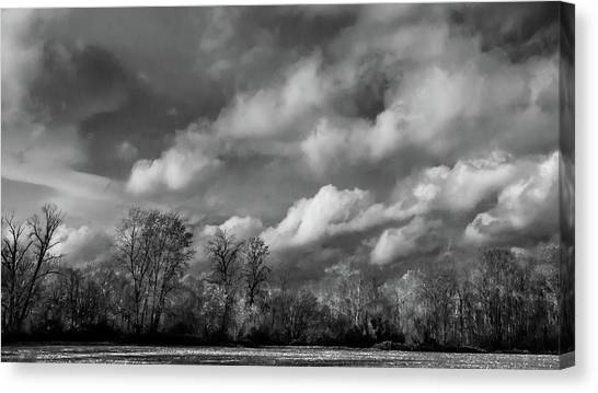 Winter's Arrival Canvas Print