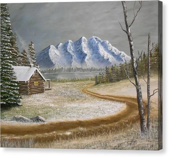 Winter's Arrival Canvas Print