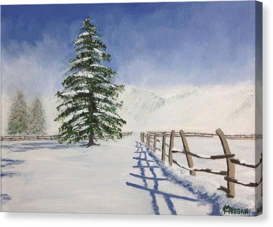 Winter's Beauty Canvas Print