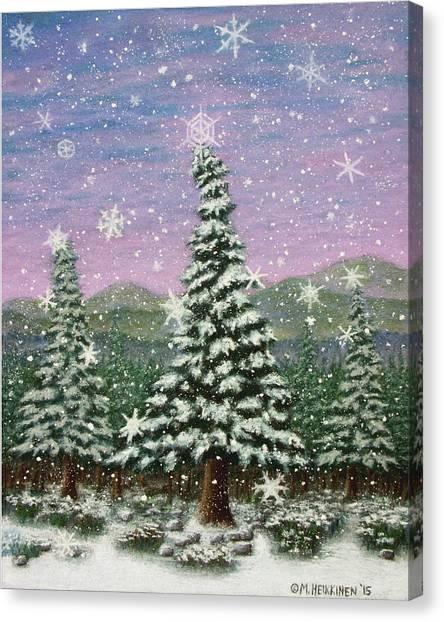 Winter's Eve 01 Canvas Print
