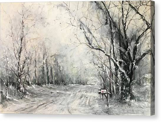 Dee Street Series Winter Wonderland Canvas Print
