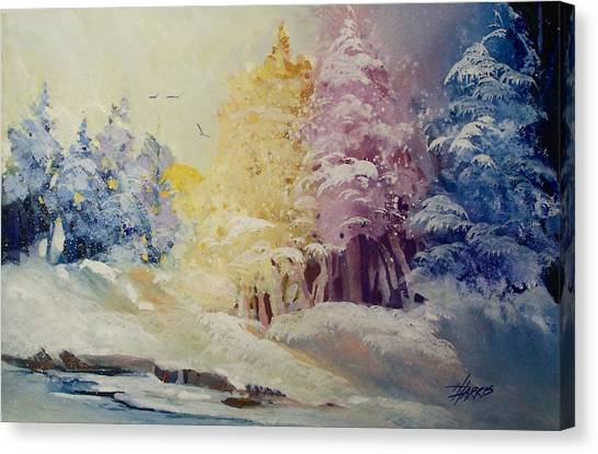 Winter's Pride Canvas Print
