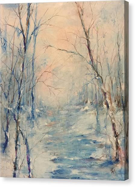 Winter's Soul Canvas Print