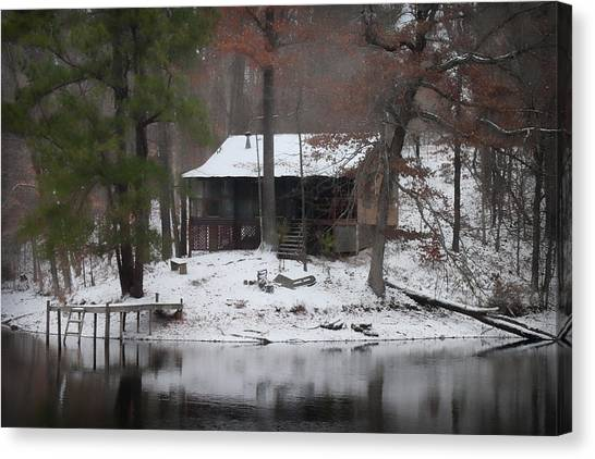 Winters Touch - Best Seller - Artist Cris Hayes Canvas Print