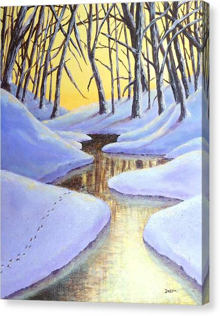 Winter's Warmth Canvas Print