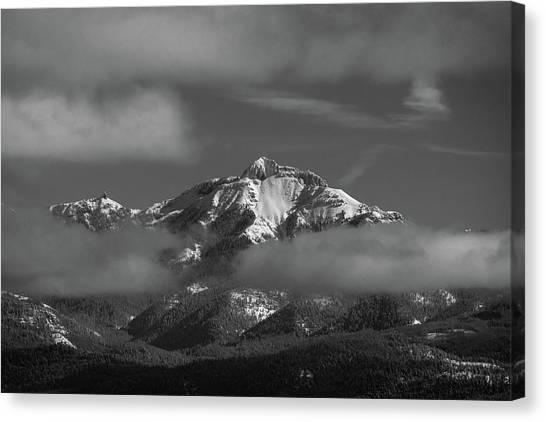 Winter's Window Canvas Print