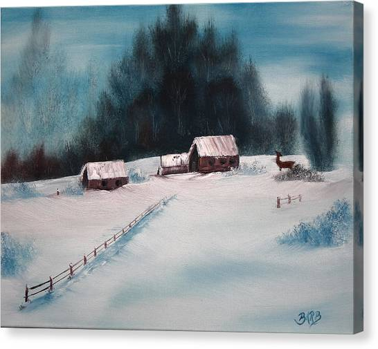 Winterscene Canvas Print