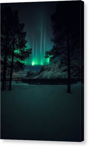 Aurora Borealis Canvas Print - Winterspell by Tor-Ivar Naess
