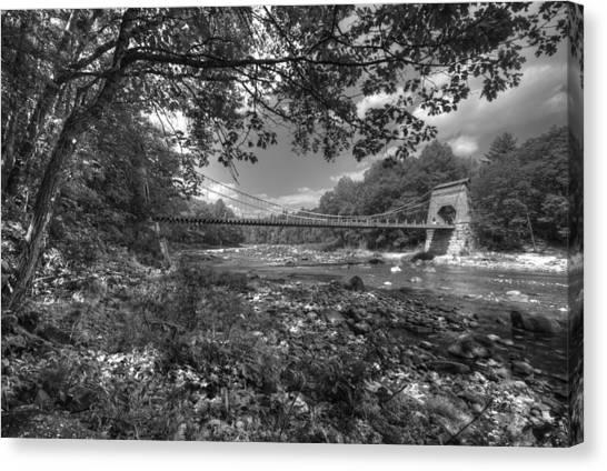 Wire Bridge Canvas Print