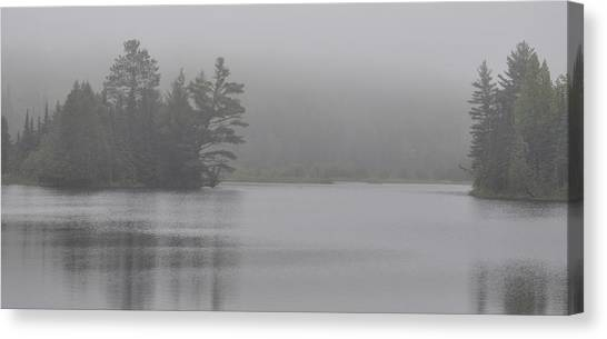 Wisconsin In Grey And Green Canvas Print