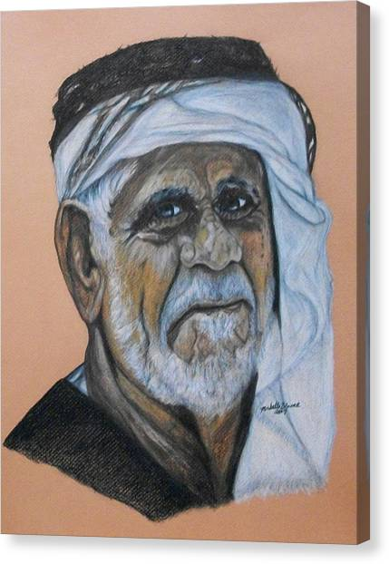 Wisdom Portrait Canvas Print