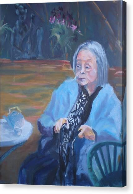 Wisdon In Carmel Canvas Print by Bryan Alexander