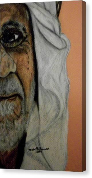 Wisdow Eye Canvas Print