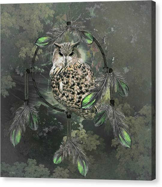 Dream Catcher Gallery Canvas Print - Wise Dreams 02 by G Berry
