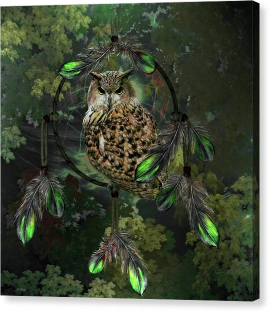 Dream Catcher Gallery Canvas Print - Wise Dreams by G Berry
