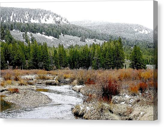 Wise River Montana Canvas Print
