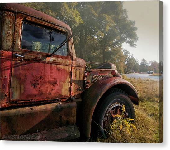 Trucks Canvas Print - Wishful Thinking by Jerry LoFaro
