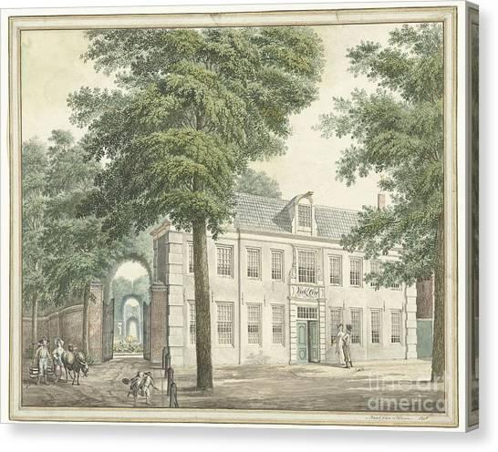 Maas Canvas Print - Wisseloord Muiderberg by Celestial Images