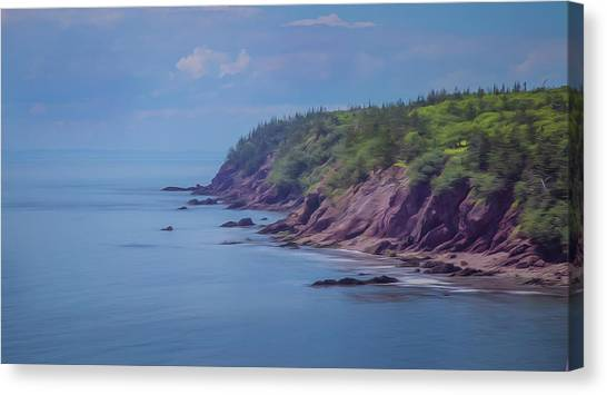 Wistful Songs Of The Ocean Canvas Print