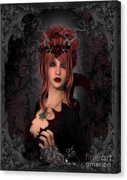 Witch Beauty Canvas Print