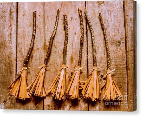 Witches Canvas Print - Witchcraft Gathering by Jorgo Photography - Wall Art Gallery