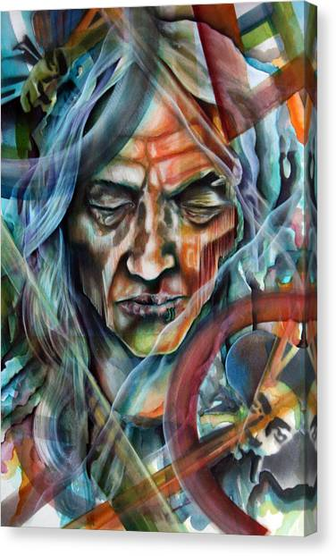 Witchdoctor Canvas Print by Robert  Nelson