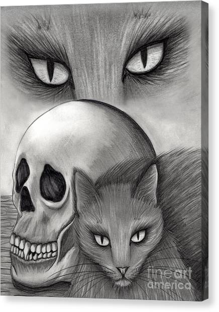 Witch's Cat Eyes Canvas Print