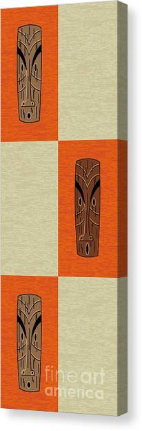 Witco Tikis 1 Canvas Print