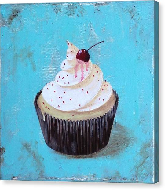 With A Cherry On Top Canvas Print
