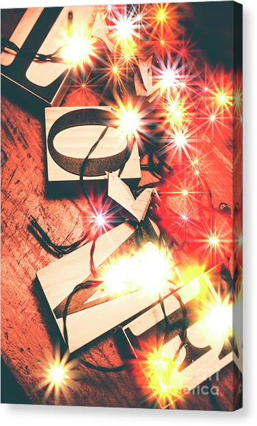 Celebration Canvas Print - With Love And Lights by Jorgo Photography - Wall Art Gallery
