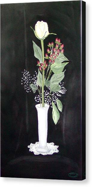 With Love Canvas Print by Sharon Steinhaus