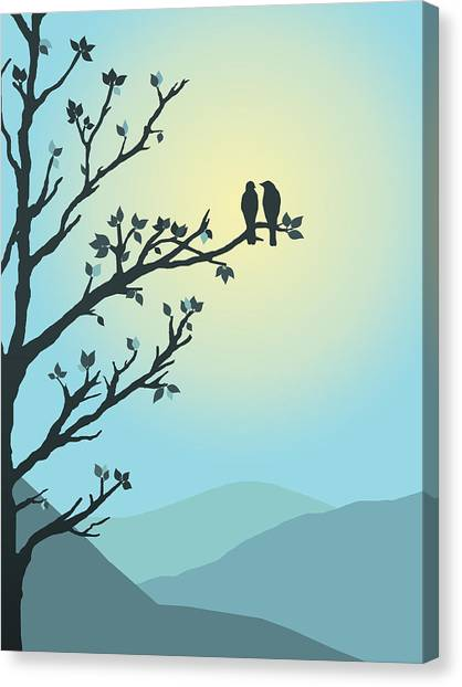 With You By My Side Canvas Print