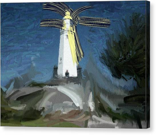 Withernsea Lighthouse Canvas Print by Phil Ward