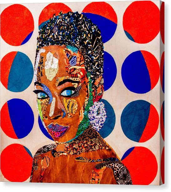 Without Question - Danai Gurira I Canvas Print