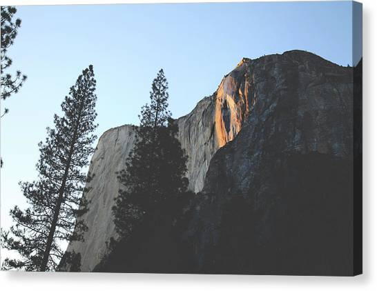 El Capitan Canvas Print - Without The Fall by Laurie Search