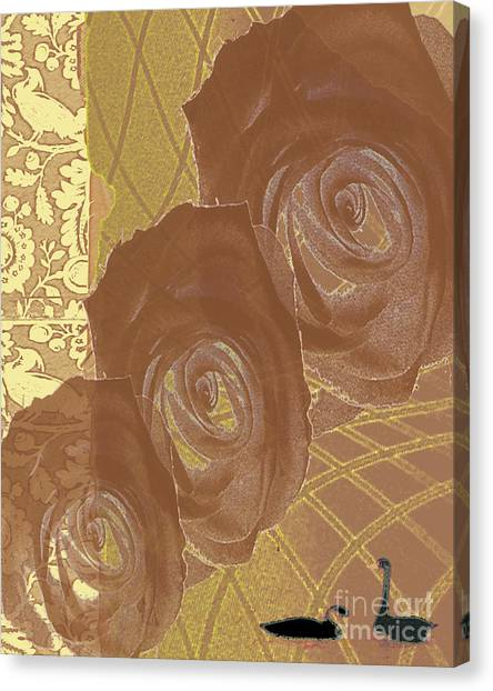 Witness Canvas Print by Pederbeck Arte Gruppe