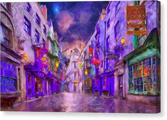 Wizard Mall Canvas Print