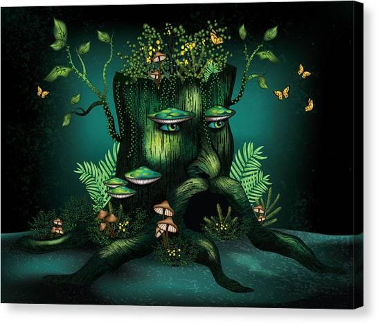 Wizard Stump Canvas Print