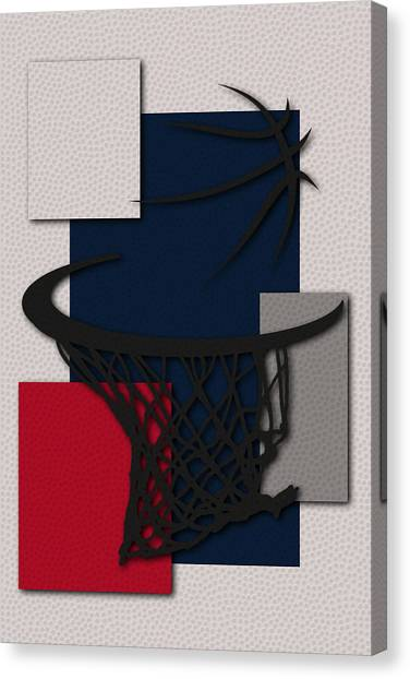 Washington Wizards Canvas Print - Wizards Hoop by Joe Hamilton