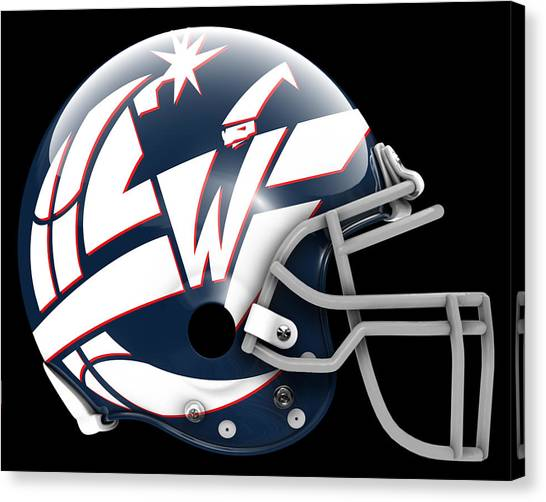 Washington Wizards Canvas Print - Wizards What If Its Football by Joe Hamilton