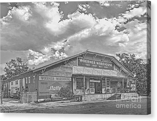 Woerner Warehouse Canvas Print