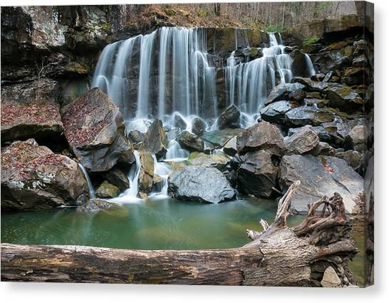 Wolf Creek Falls Canvas Print